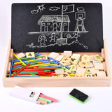 Math Wooden Learning Education