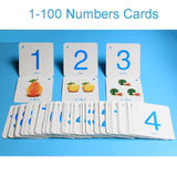 1-100 Digital Card with Addition,Subtraction,Multiplication and Division Symbols Fun Game