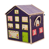 Blue House Toy Storage Basket by RiceDK