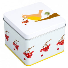 Blafre Vintage Bird Storage Tin