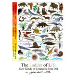 The Ladder of Life Poster by Charley Harper