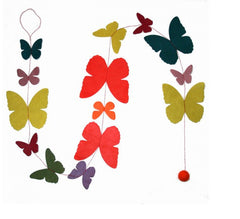 Butterfly Paper Garland