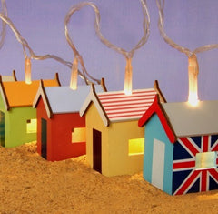 Beach hut lights