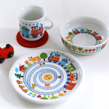 ByGraziela Train Crockery Set