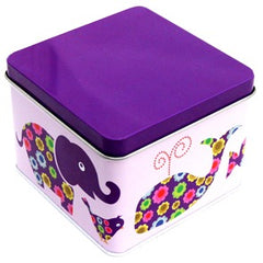 Blafre Purple Animals Storage Tin