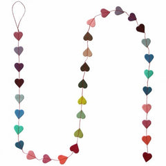 Mini Heart Paper Garland
