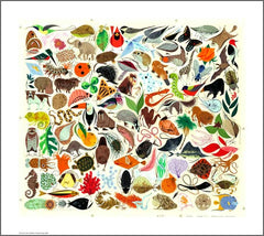 Charley Harper Tree of Life Limited Edition Print