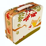 Blafre Vintage Birds Lunch Box/Tin Case