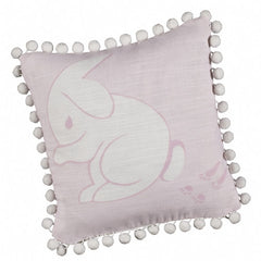 Pink Rabbit Cushion