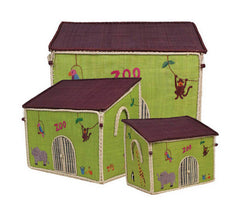 Zoo Toy Storage Baskets Set by RiceDK