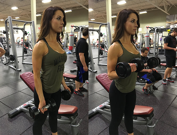 CHER JARVIS DAY 4 WORKOUT: CHEST, BICEPS, TRICEPS
