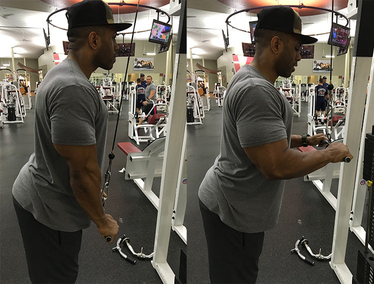 Sammy Collier Day 5 workout: Triceps
