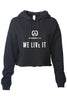 Warrior Fuel Women's Crop Hoodie