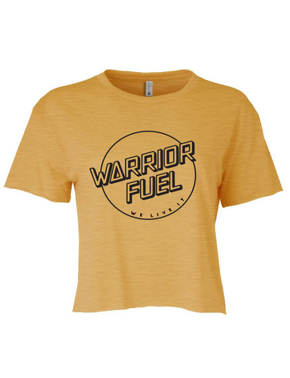 Crop Top - Gold - warriorfuelsupplements.com
