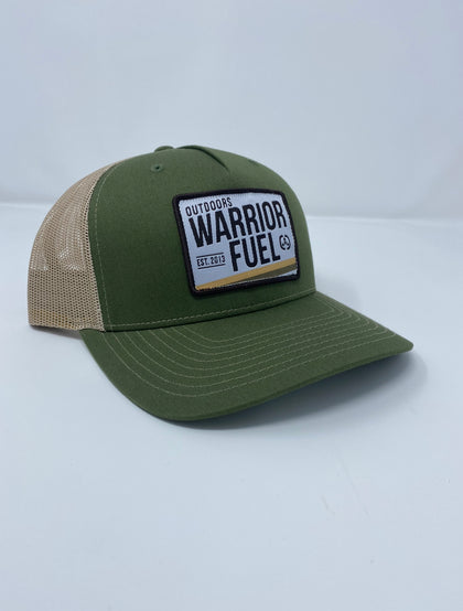 Warrior Fuel Outdoor Green and Tan - warriorfuelsupplements.com