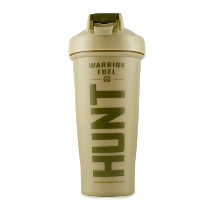 WF Hunt Shaker Bottle - warriorfuelsupplements.com