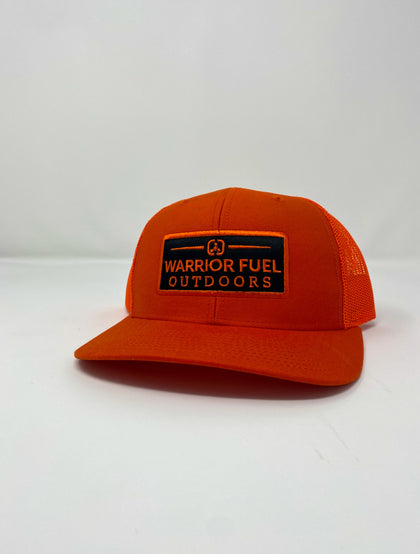 Hunter Orange Outdoors Hat - warriorfuelsupplements.com
