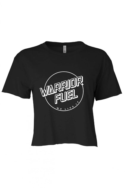 Crop Top - Black - warriorfuelsupplements.com