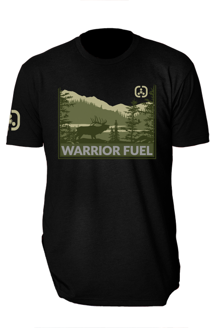 ELK Country T-Shirt (Black) - warriorfuelsupplements.com