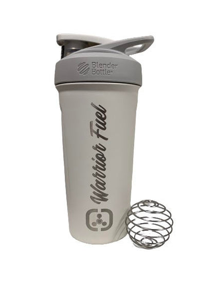 WF Stainless Steel Blender Bottle - warriorfuelsupplements.com