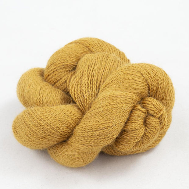 Baby Alpaca Lace Curry 21