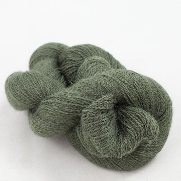 Baby Alpaca Lace Forest Green 13