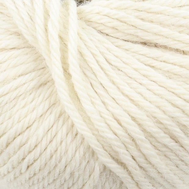 Baby Alpaca Natural White 00
