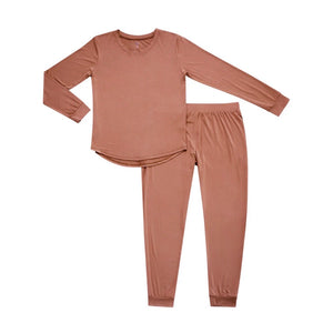 Kyte Baby Women's Loungewear Jogger Pant Set in Spice