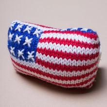 Load image into Gallery viewer, Organic American Flag Rattle