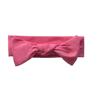 Bamboo Solid Baby Headband in Bubble Gum