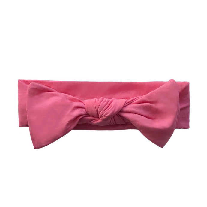 Bamboo Solid Headband in Bubble Gum