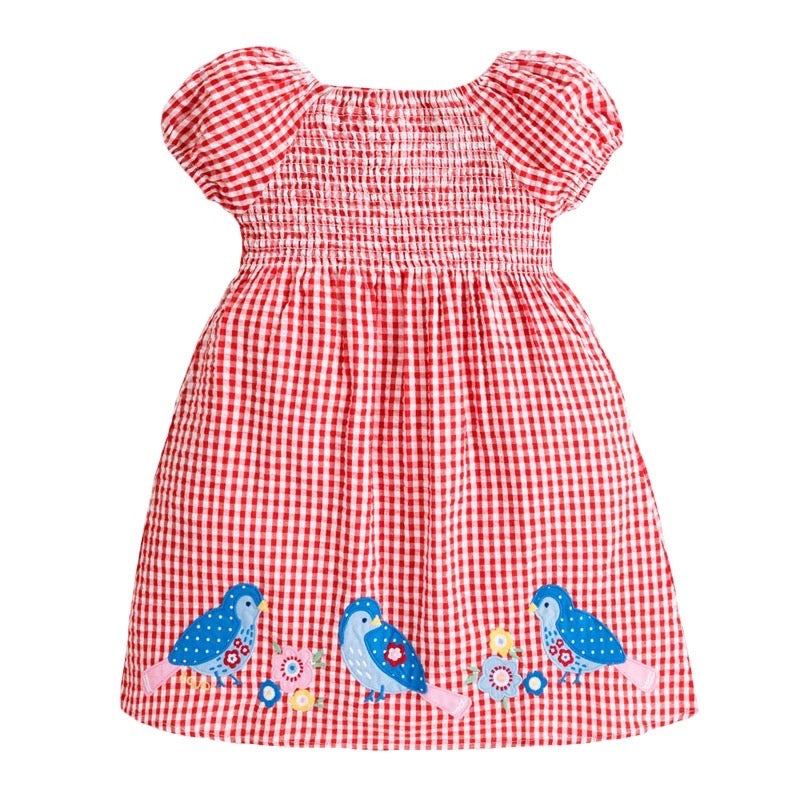 Birdie Gingham Dress