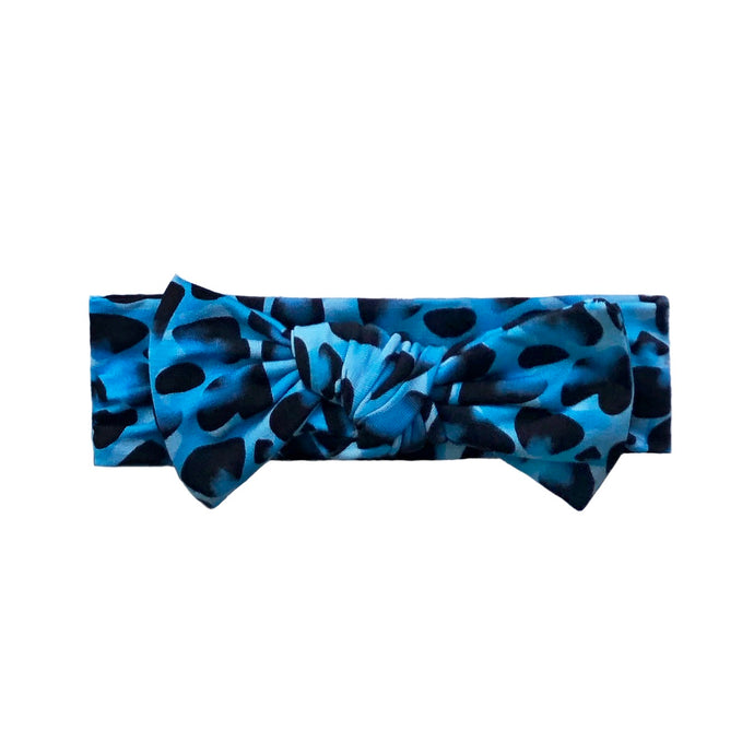 Brooklyn Leopard Bamboo Headband