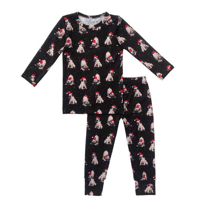 Christmas Pup Bamboo Toddler Pajama Set