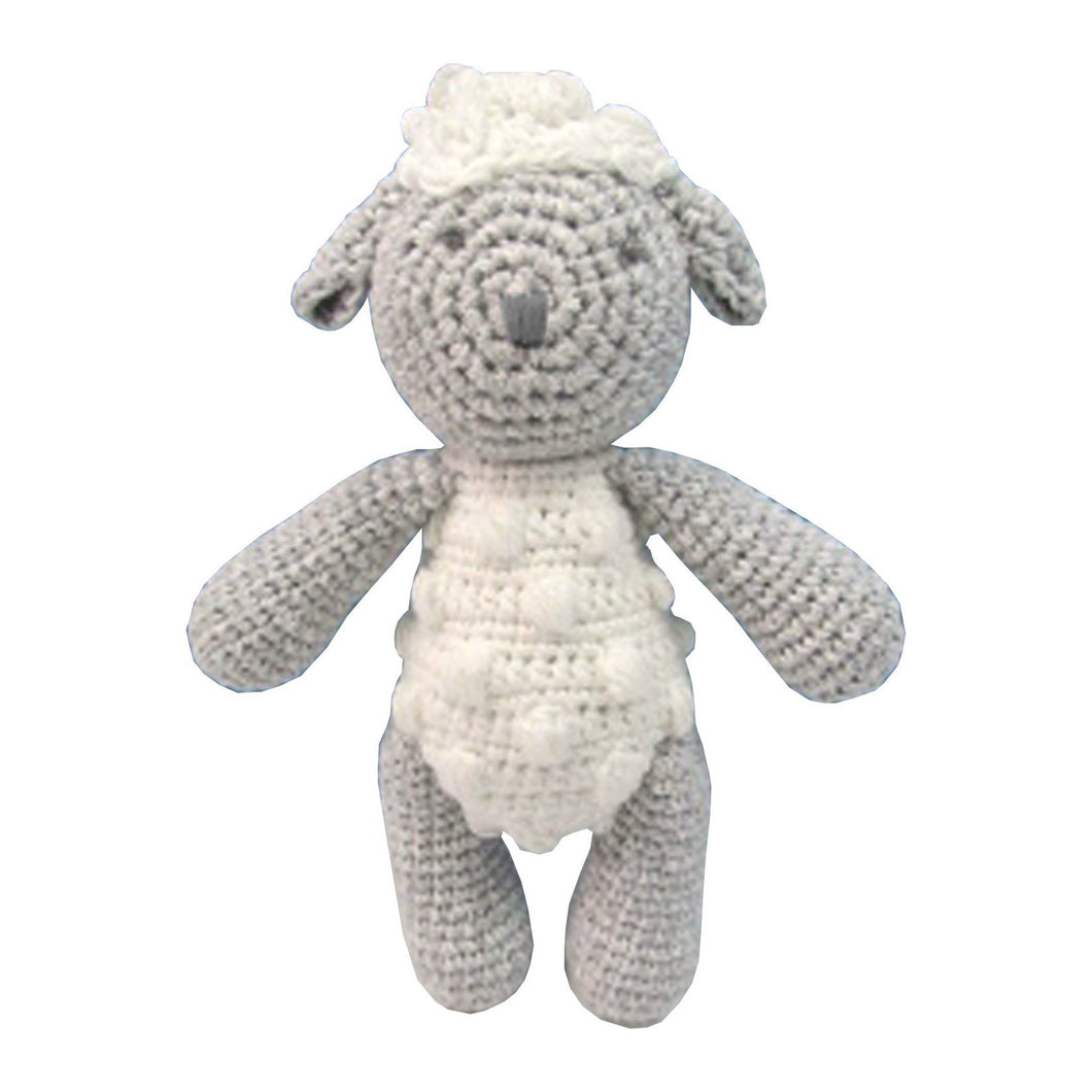 Crochet Sheep Rattle