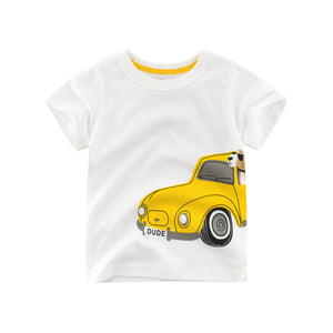 Dog In Dude's Car Baby T-Shirt