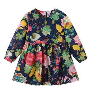 Floral Darkness Dress