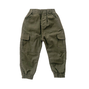 Forest Green Cargo Pants
