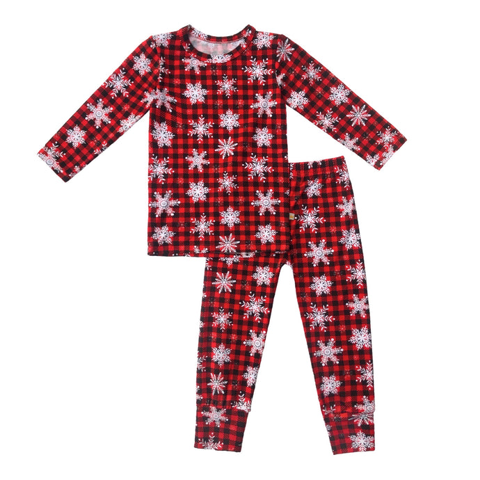 Frosted Lumber Bamboo Toddler Pajama Set