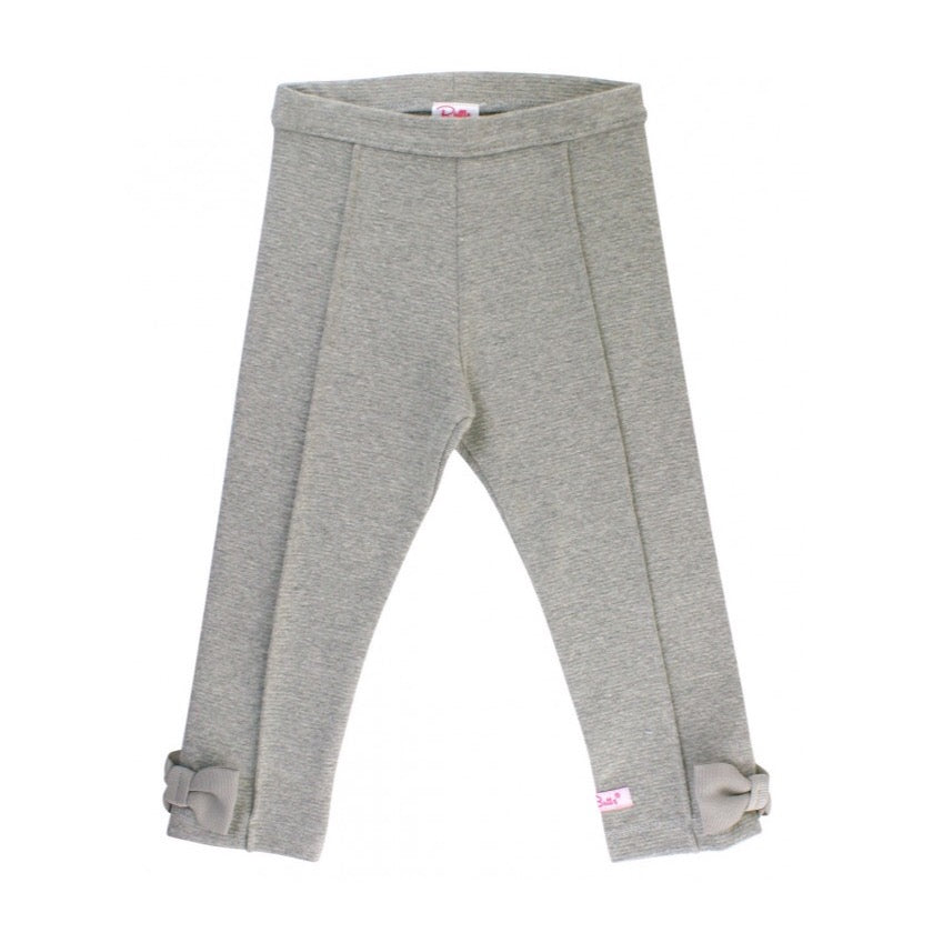Heather Gray Ponte Pants