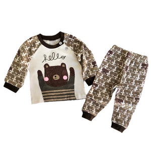 Hello Bear Pant Set