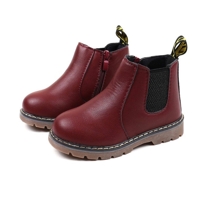 Bike Life Chelsea Boots in Wine