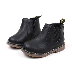 Bike Life Chelsea Boots in Black