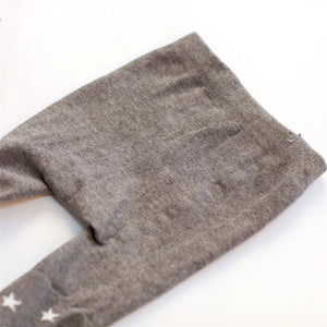Star Cotton Baby Tights