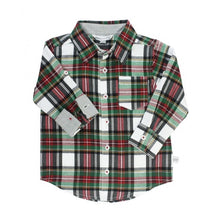 Load image into Gallery viewer, Baby Juniper Plaid Button Down Shirt