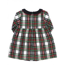 Load image into Gallery viewer, Juniper Plaid Peter Pan Dress