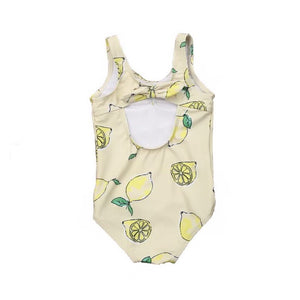 Throw Me Lemons One Piece Baby Swimsuit