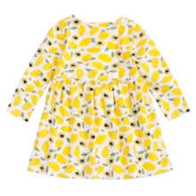 Load image into Gallery viewer, Lemon Squeeze Jersey Dress