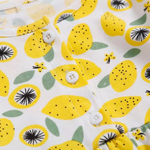 Load image into Gallery viewer, Lemon Squeeze Baby Jersey Dress