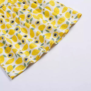 Lemon Squeeze Jersey Dress